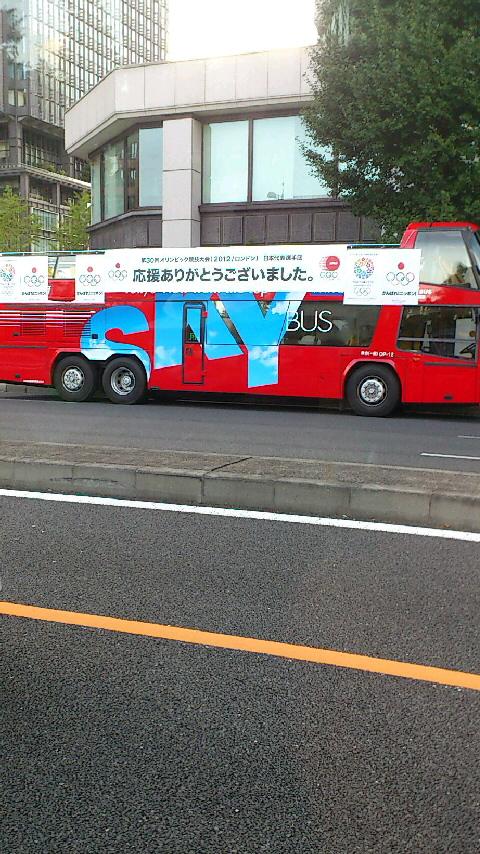 オリンピックパレード車