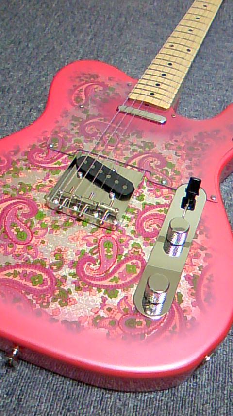 Fender Japan Telecaster Pink Paisley